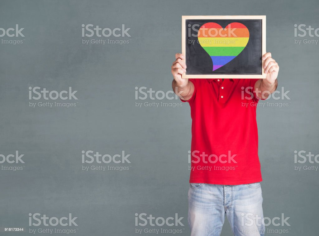 LGBT community rights concept stock photo