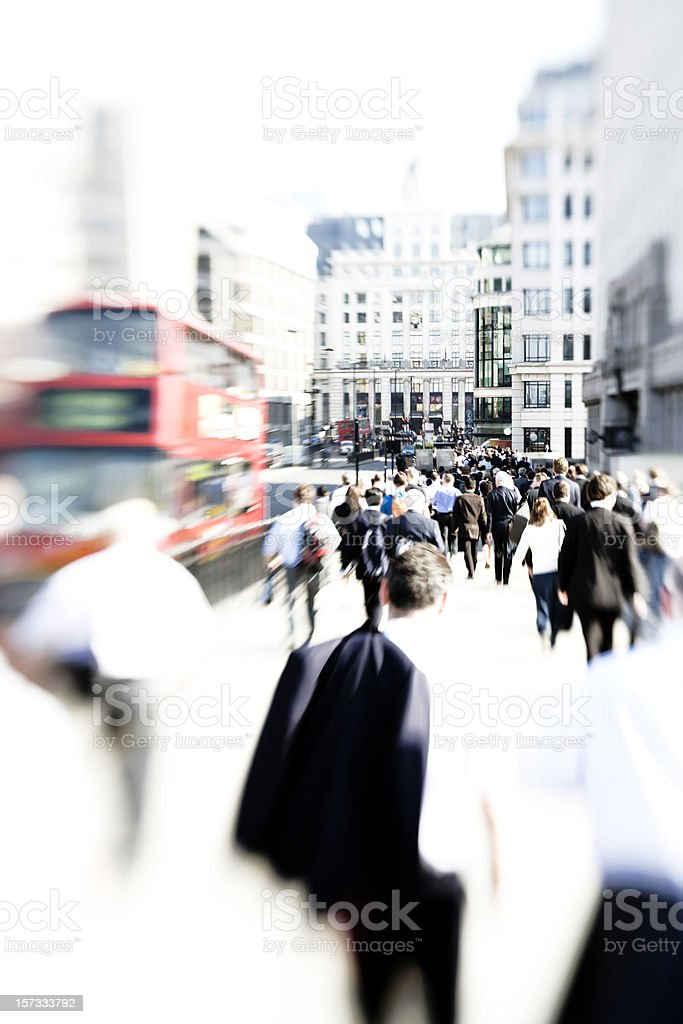 Commute royalty-free stock photo