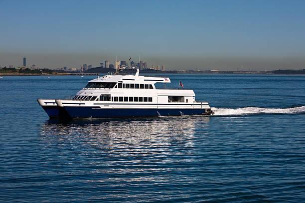 Commuter Boat stock photo