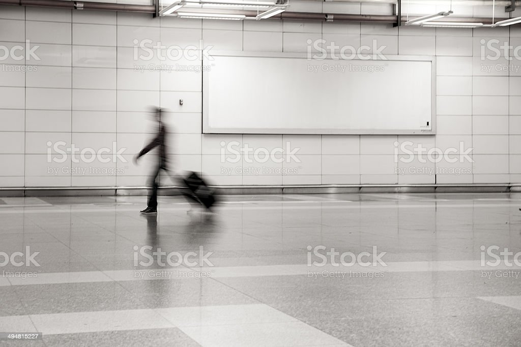 Commuter stock photo