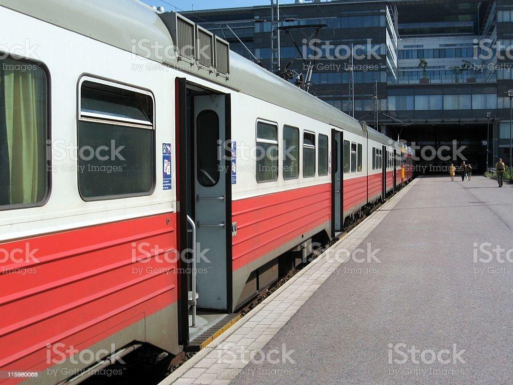 Commuter train royalty-free stock photo