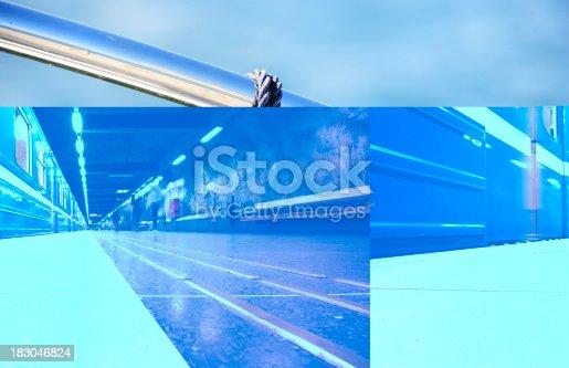 172864410istockphoto Commuter train station platform 183046824