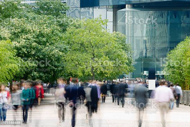 Commuters walking in financial district blurred motion picture id171144449?b=1&k=6&m=171144449&s=612x612&h=cpeqjlbpazyiyjt7uc4hc wueqniqcxu7kwpjmanfrs=