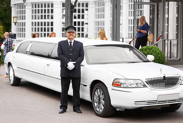 Commuting in luxury stock photo