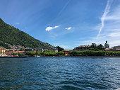 istock Como, Italy - Italian tourist destination - Beautiful lake in Europe 1204479614