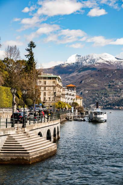 lago de como, lombardia, itália, europa - lombardia - fotografias e filmes do acervo