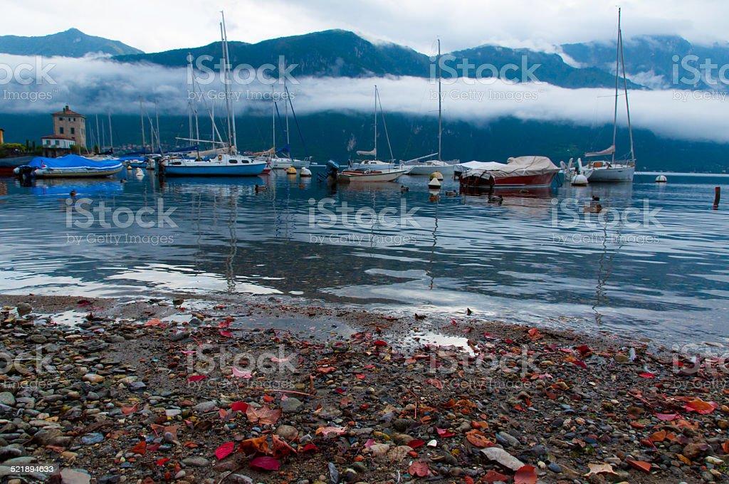 Como Lake, Lombardy, Italy. stock photo