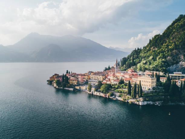 como lake - como italië stockfoto's en -beelden