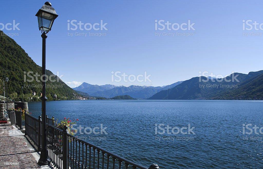 Como Lake royalty-free stock photo