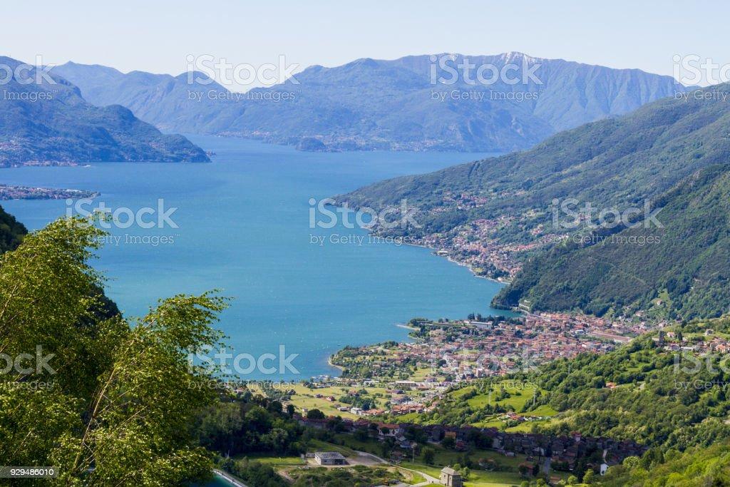 como lake stock photo