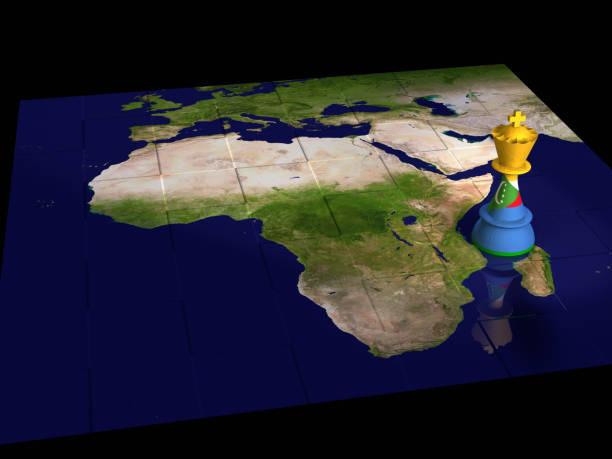 carte d'échecs comores - comores photos et images de collection