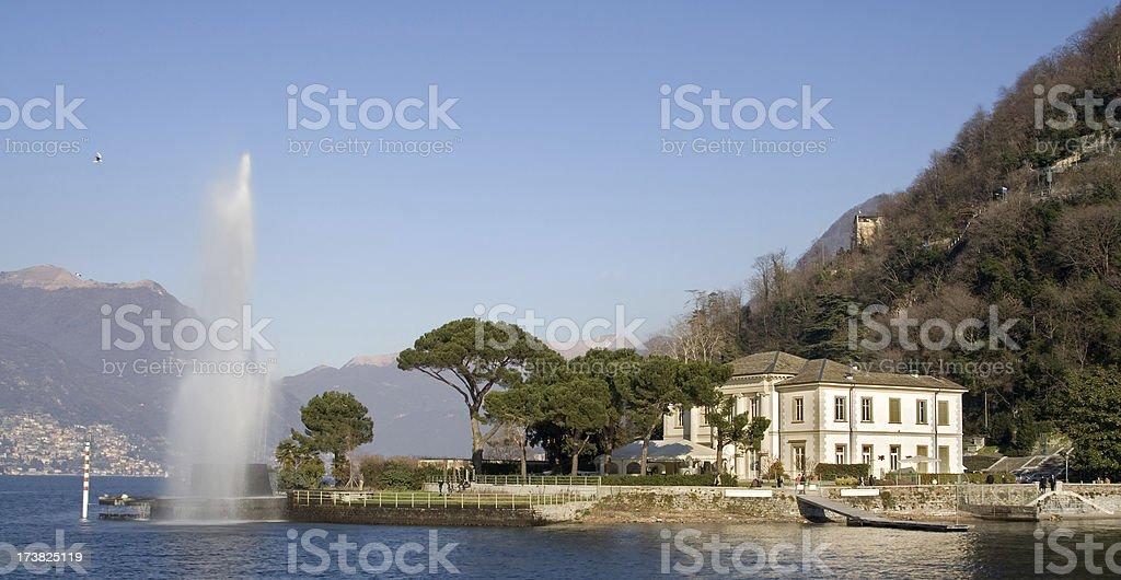 Lago di Como - foto stock