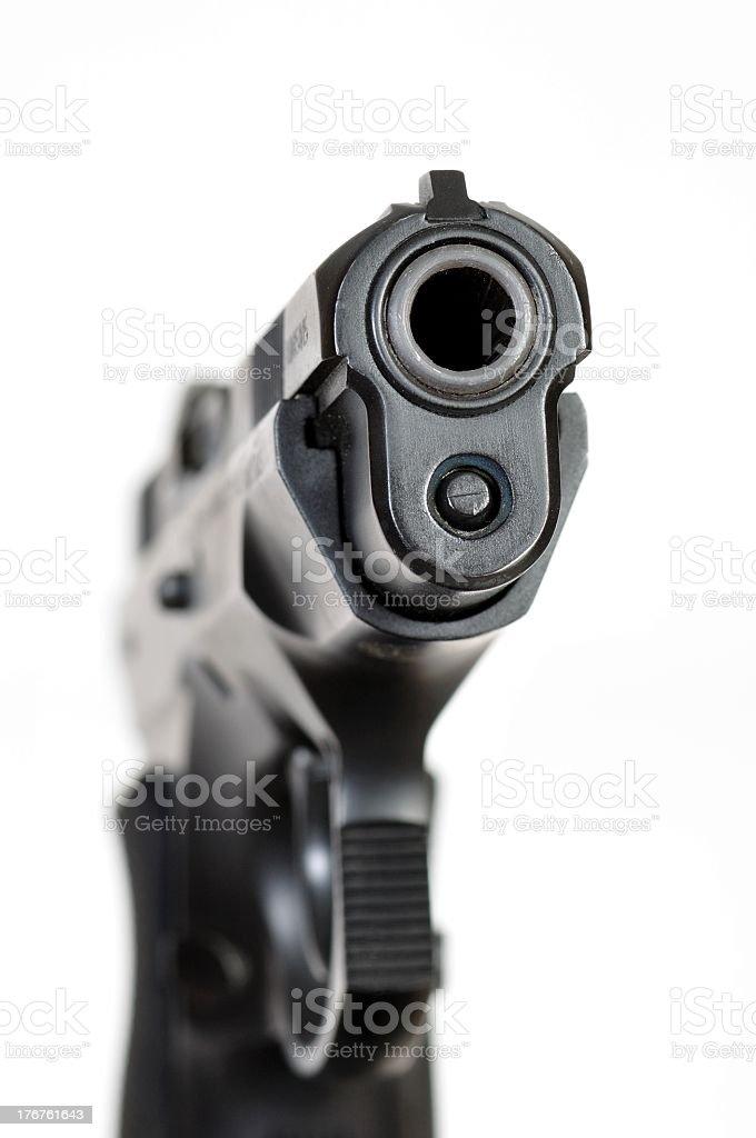 CZ-75 Compact 9mm Handgun royalty-free stock photo