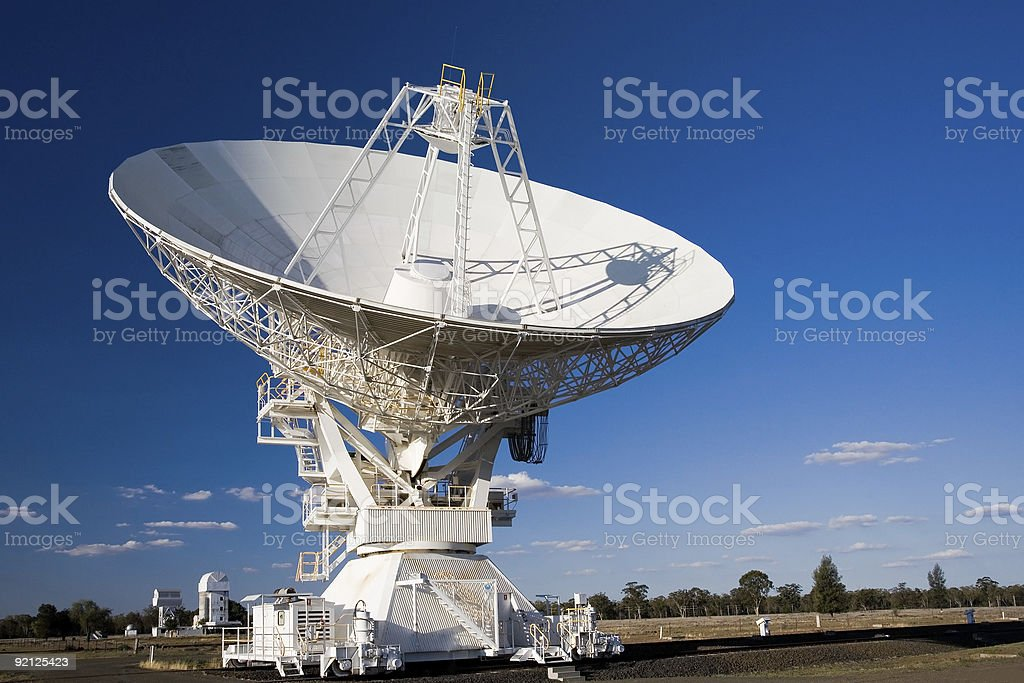 Compact Array Telescope stock photo