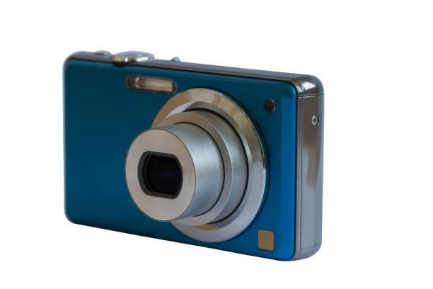 Compact camera. stock photo