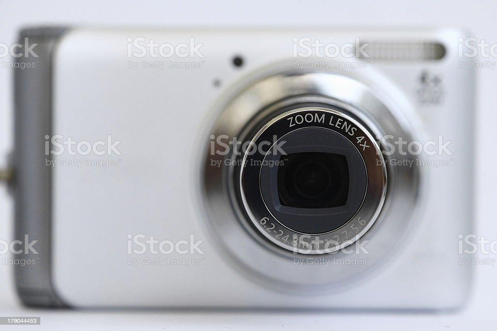 Compact camera zoom lenses royalty-free stock photo
