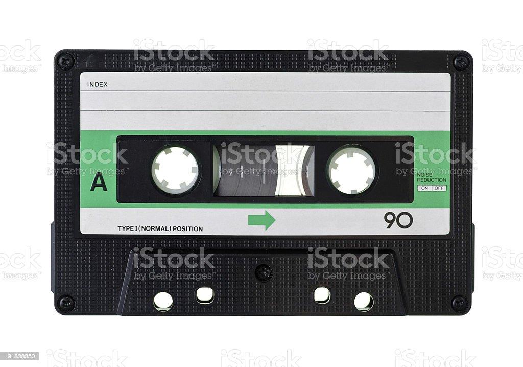 Compact Cassette stock photo