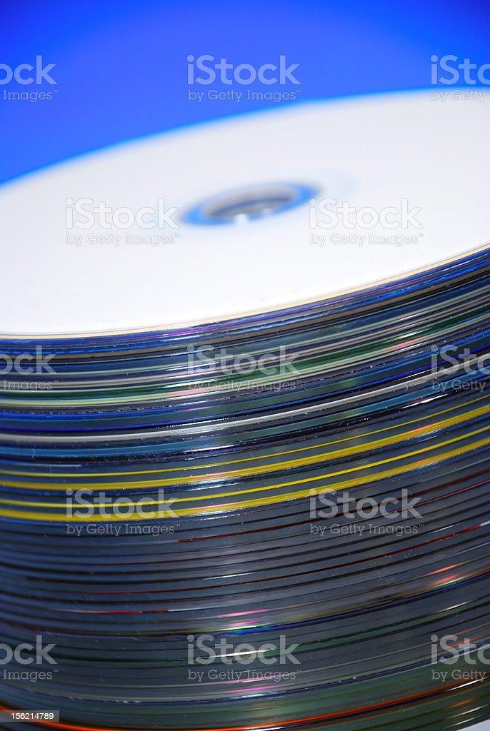 Compact Disc stock photo