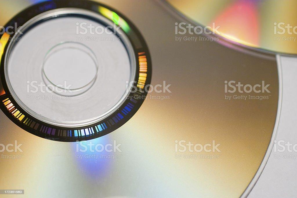 Compact disco foto de stock libre de derechos