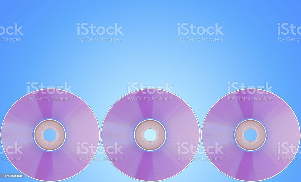 Compact disc royalty-free stock photo