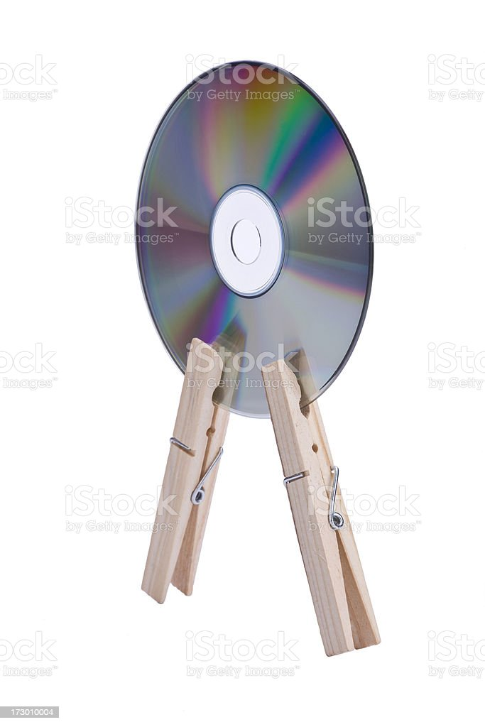 Compact Disk CD royalty-free stock photo