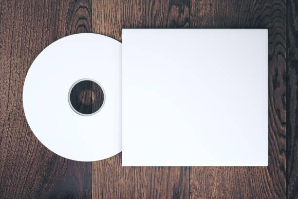 Kompaktscheibe mit Abdeckung – Foto