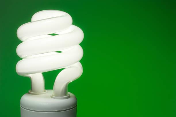 Compact Fluorescent Light stock photo