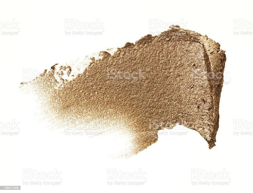 Compact Gold Cream stock photo