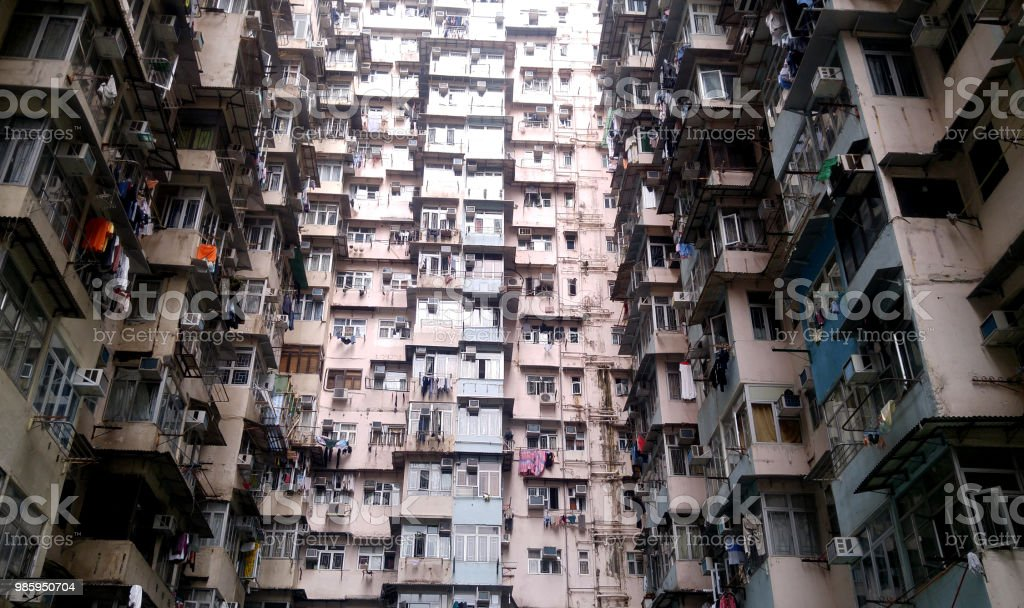 Compact Living In Quarry Bay Hong Kong Stock Photo Download Image Now Istock
