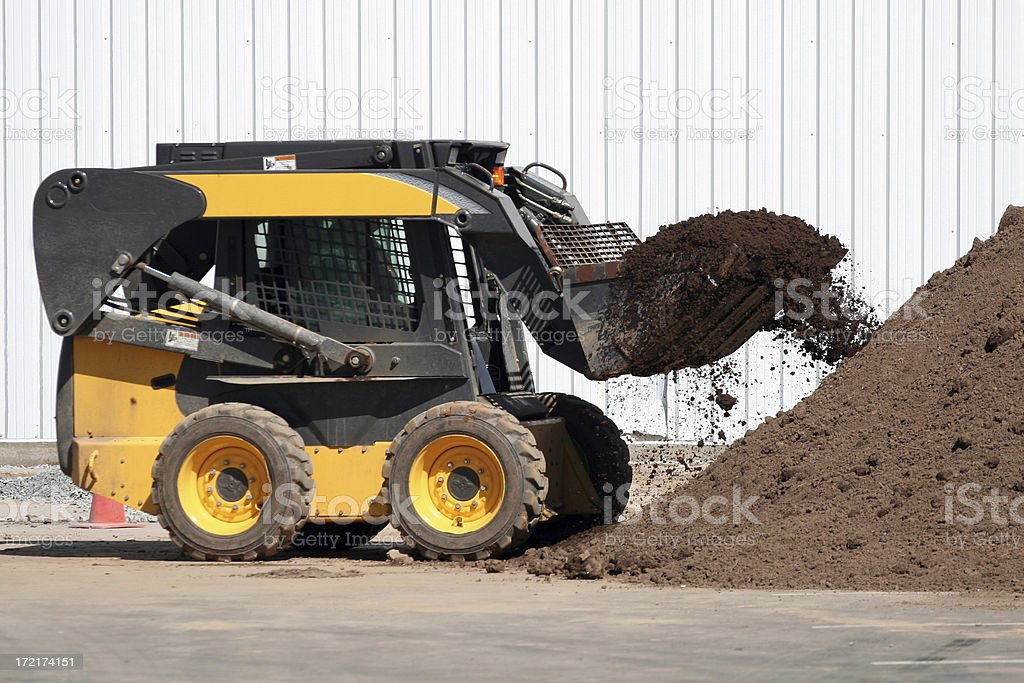 Compact Loader royalty-free stock photo