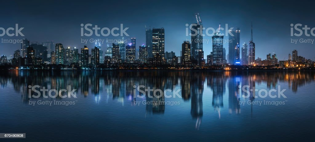 Compact Megacity stock photo