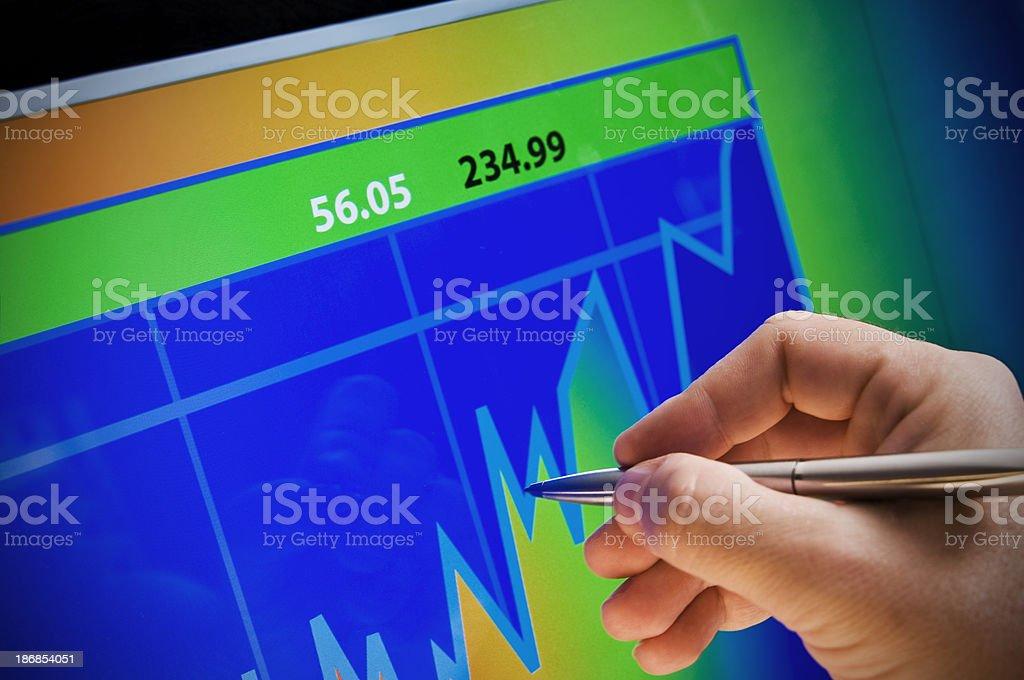 company Analyze royalty-free stock photo