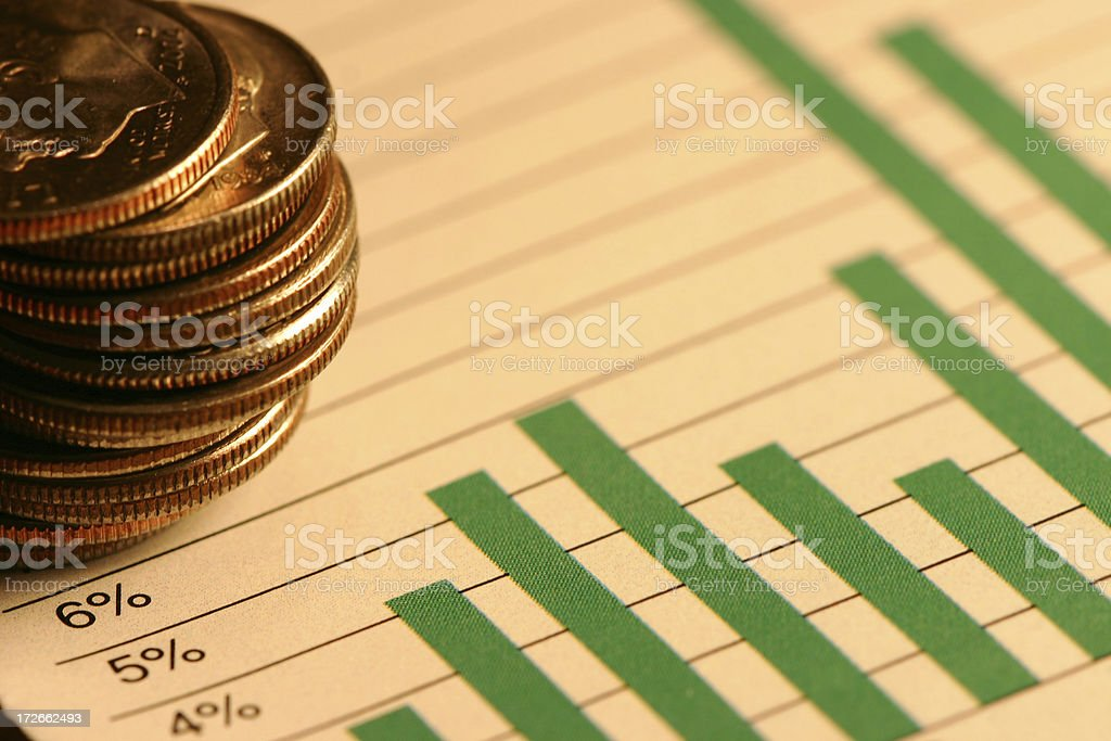 Company Growth royalty-free stock photo