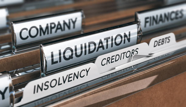 Company Insolvency And Liquidation stock photo