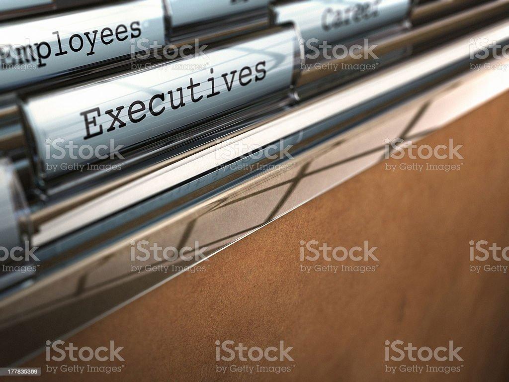 Company Staff Management stock photo
