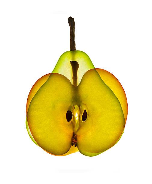 Äpfel mit Birnen vergleichen – Foto