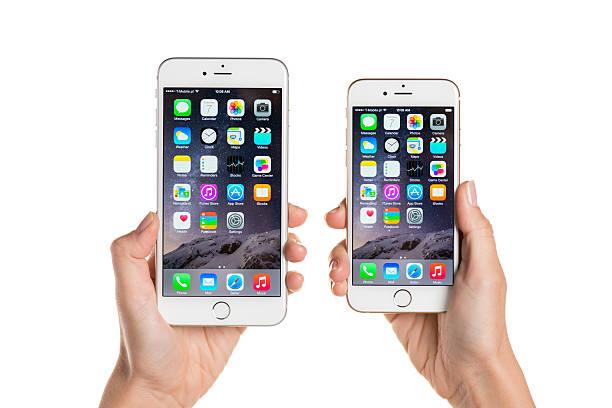 Vergleich iPhone 6 und iPhone 6 Plus – Foto