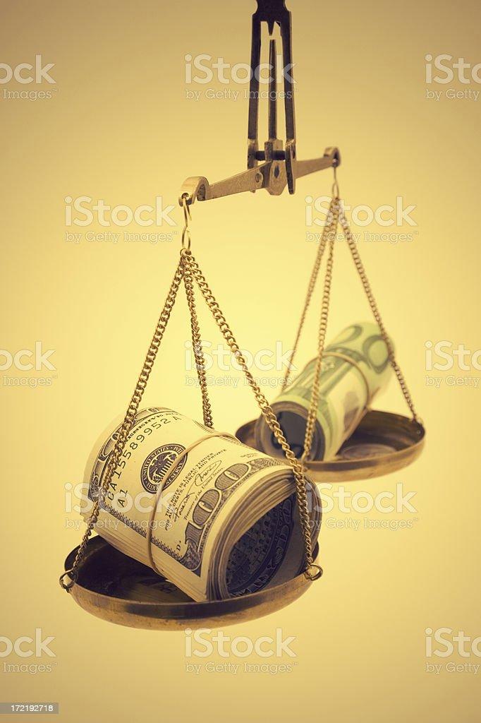 Comparison royalty-free stock photo