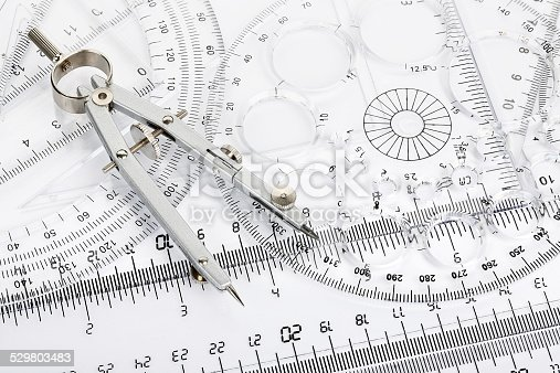 istock compass and rulers 529803483