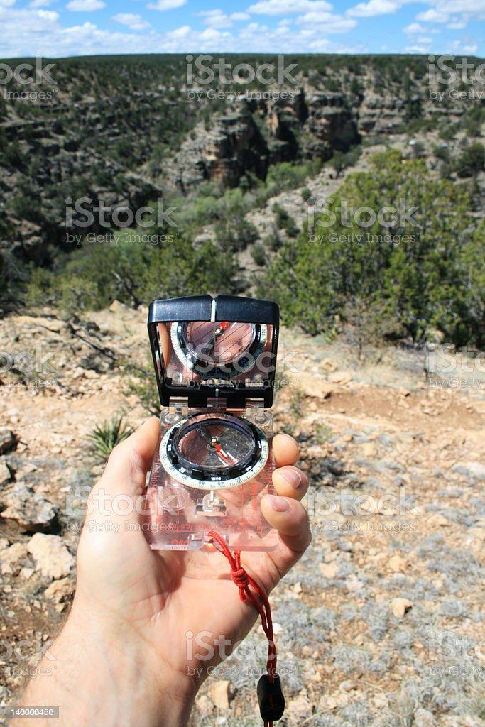 compass bearing royalty-free stock photo