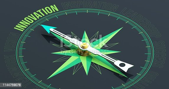 INNOVATION Compass Concept 3D Rendering