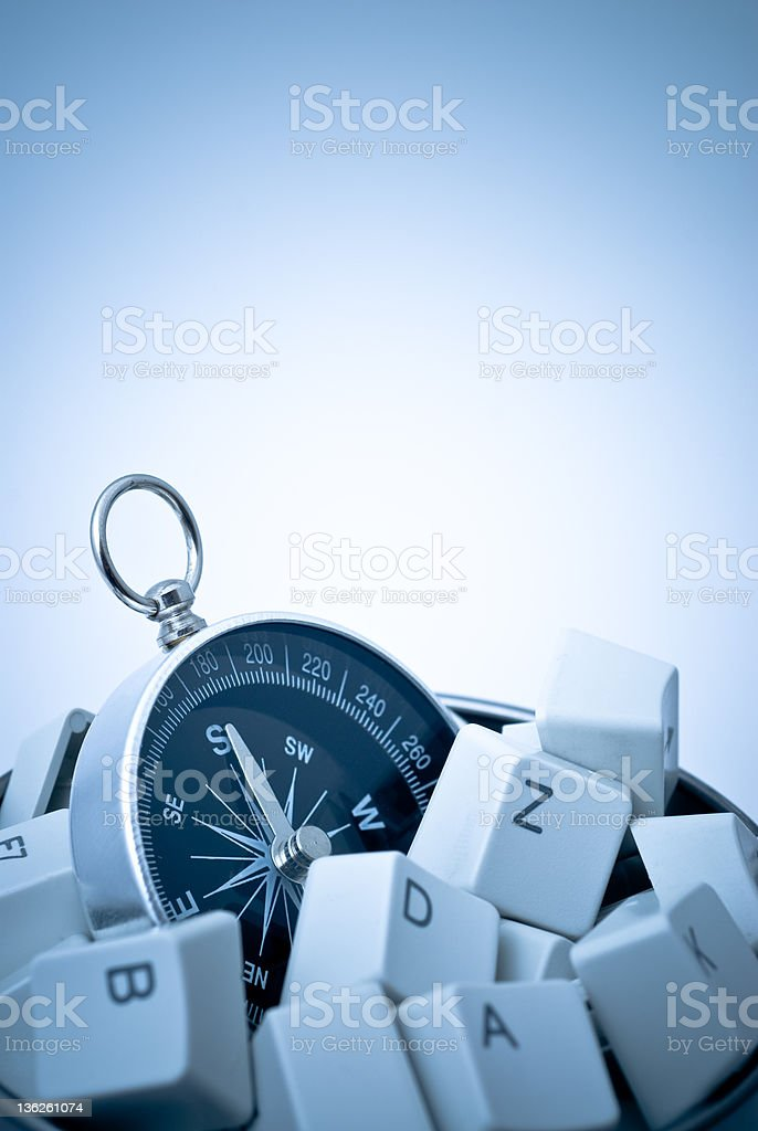 Compass Concept royalty-free stock photo