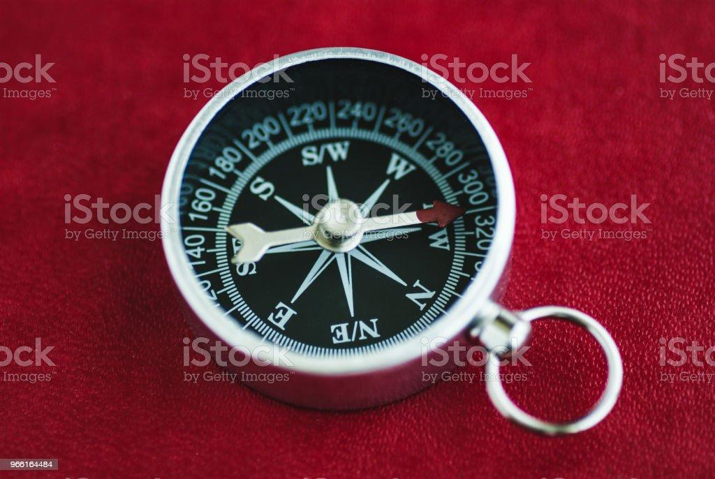 Kompass för riktning urval - Royaltyfri Arbetsverktyg Bildbanksbilder
