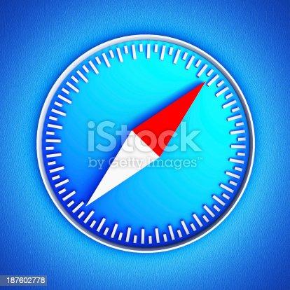 istock Compass icon 187602778