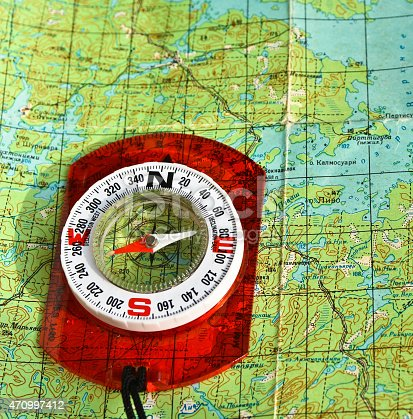 97623256istockphoto compass on the map. 470997412