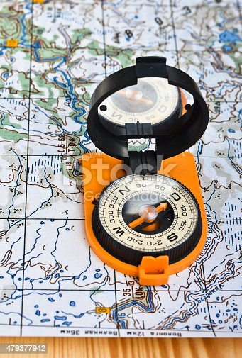 97623256istockphoto compass on the map. 479377942