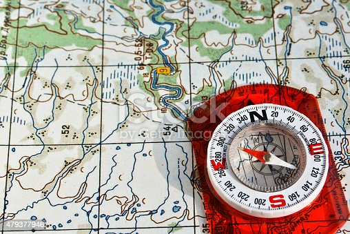 97623256istockphoto compass on the map. 479377946