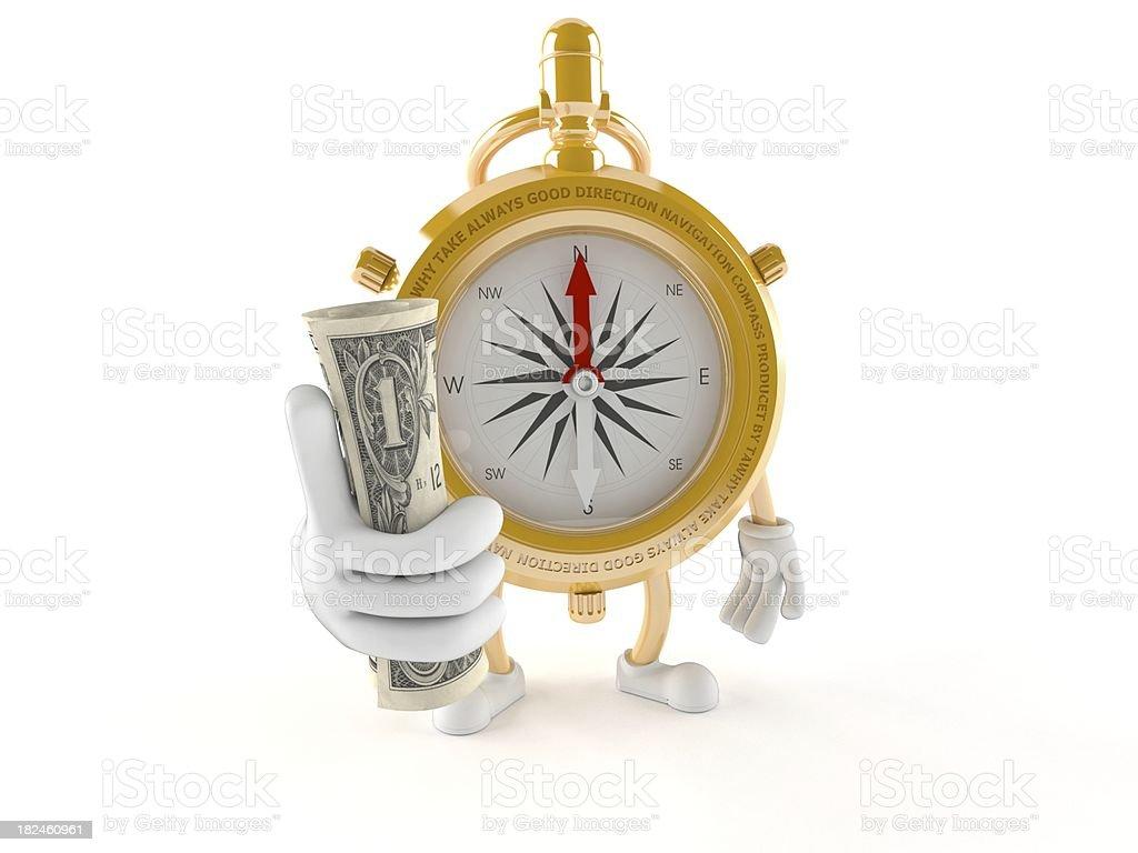 Sala Compass foto de stock libre de derechos