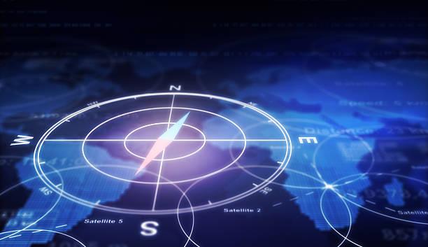 Compass stock photo