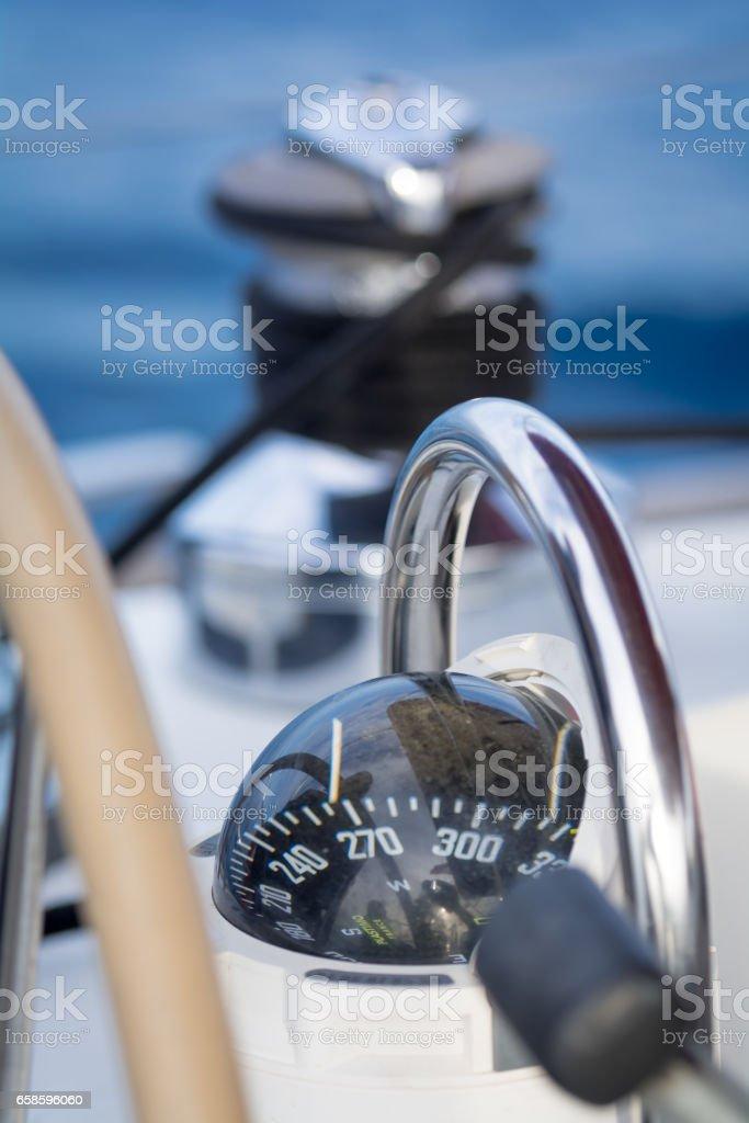 Compass - Lizenzfrei Ausrüstung und Geräte Stock-Foto